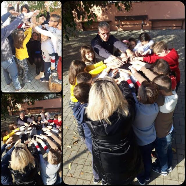 Η Ομπρέλα Αλληλεγγύης στο Τρίτο Δημοτικό Σχολείο Άργους