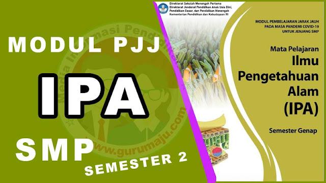 Download Modul PJJ IPA Kelas 7 SMP Semester 2