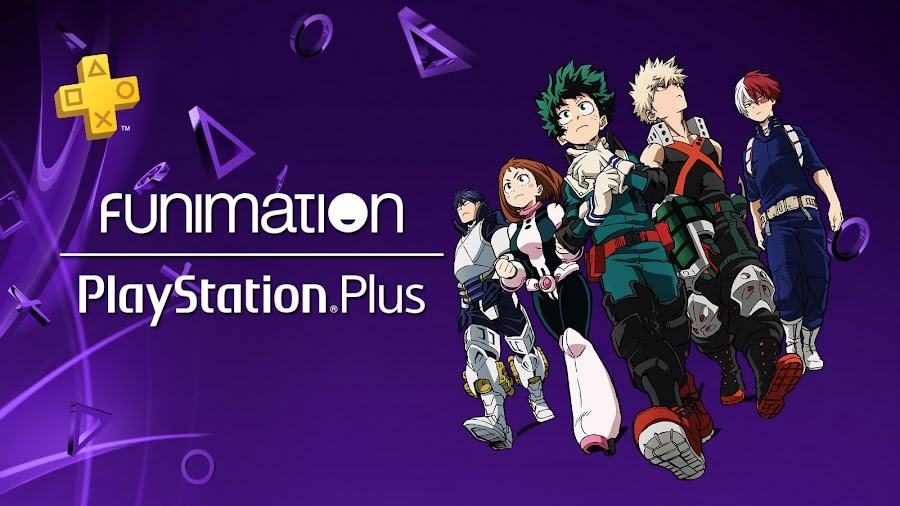 sony funimation premium ps plus subscribers free 2 months sie playstation 4 my hero academia