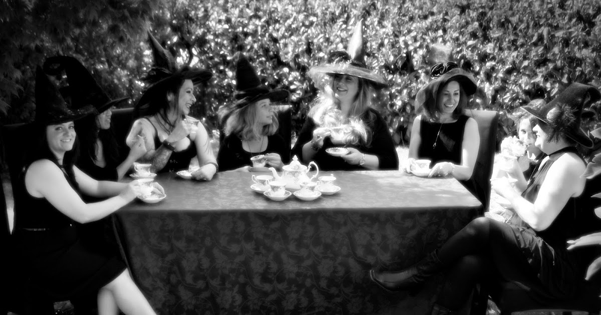 Witches tea party porn 12