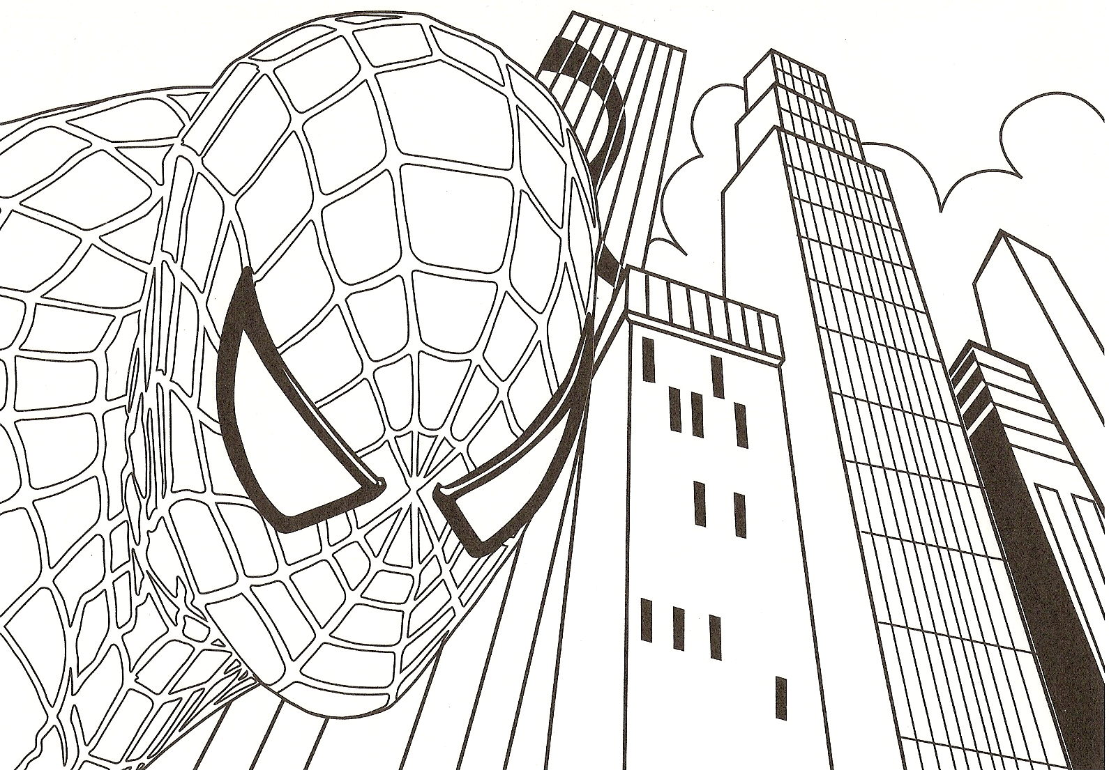 Dibujos Para Colorear Spiderman Para Imprimir: Desenhos Para Colorir: Homem Aranha