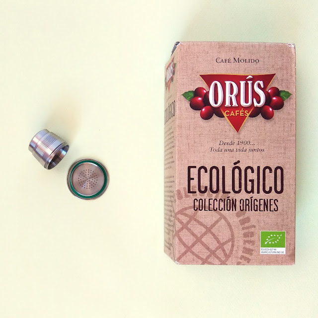 Cápsula reutilizable nespresso
