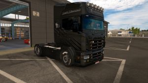 Diamond Metallic skin for Scania RJL
