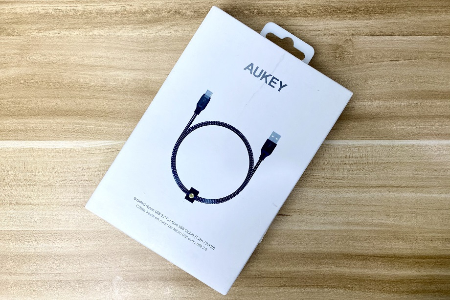 Grab the Aukey High Performance Nylon MicroUSB cable in Shopee 7.7. Sale