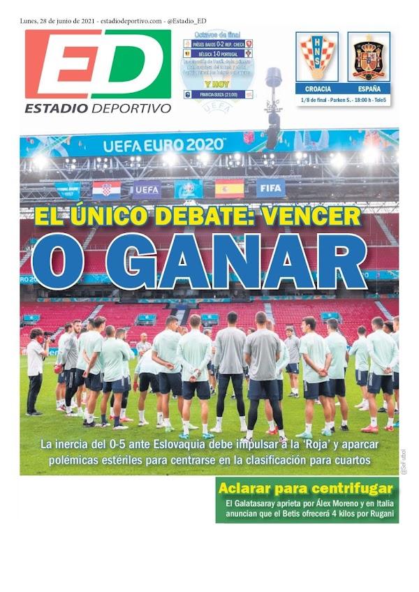"Betis, Estadio Deportivo: ""Aclarar para centifrugar"""