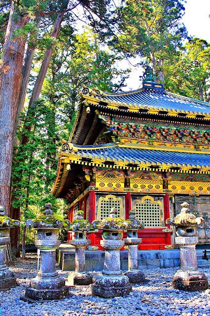 Levy Amosin in Nikko Japan