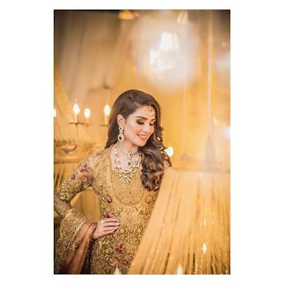 ayeza khan bridal pics