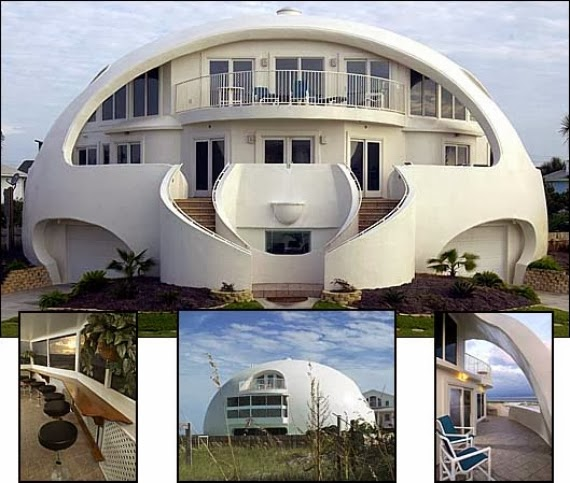 Dome Home Design Ideas: Monolithic Dome Home Plans