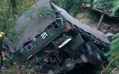 कुफरी मे आर्मी का ट्रक खाई मे गिरा एक जबान की मौत अन्य घायल जाने पूरी खबर और और जवानो के बारे मे