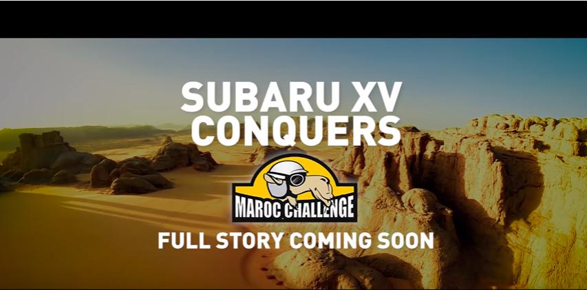 Subaru XV Maroc Challenge- canzone luglio 2016