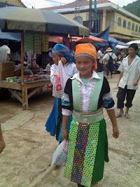 Grupos raciales de Sapa: los Hmong
