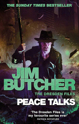 Peace Talks by Jim Butcher book cover