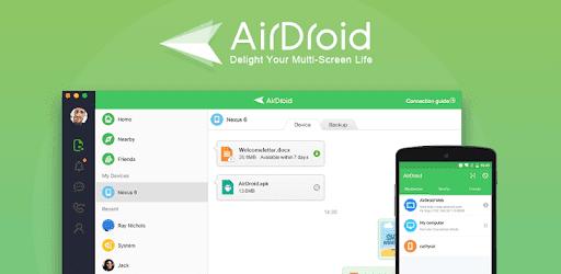 تنزيل تطبيق AirDroid APK للاجهزة الاندرويد باخر تحديث مجانا  للتحكم في الهاتف عن بعد 2020