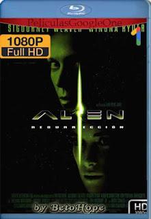 Alien 4: Resurreccion [1997] [1080p BRrip] [Latino-Inglés] [GoogleDrive]