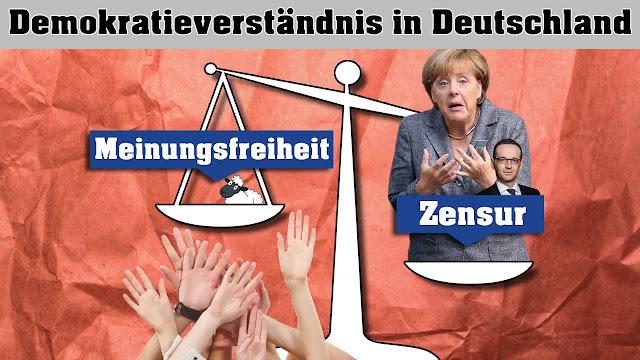 Gibt es einen besseren Beweis für die Abschaffung von Demokratie und Rechtsstaat?  Wir müssen sie abwählen, solange es noch geht!