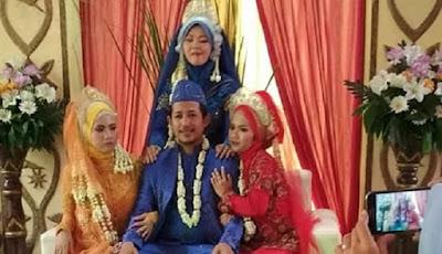 Menikah Langsung Dengan Tiga Wanita, Alasan Pria Ini Bikin Para Cowok Jadi Ngiri
