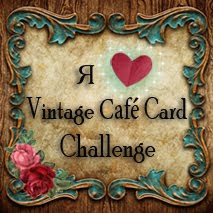 Wyzwania Vintage Cafe Card