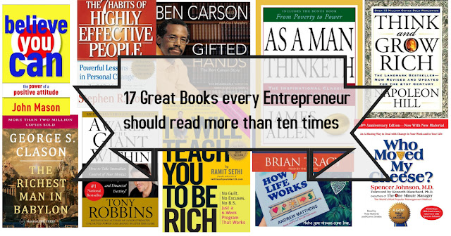17 Great Books every Entrepreneur should read more than ten times