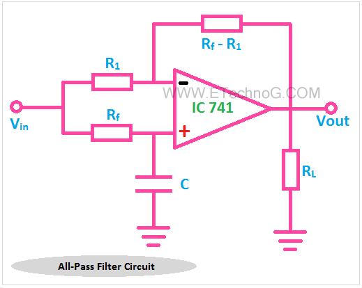 all pass filter circuit