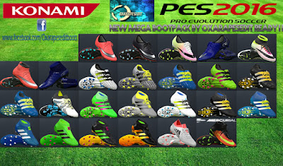 PES 2016 New Mega Bootpack by oxarapesedit