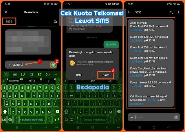 Cara Cek Kuota Telkomsel Lewat SMS 2021 Terbaru