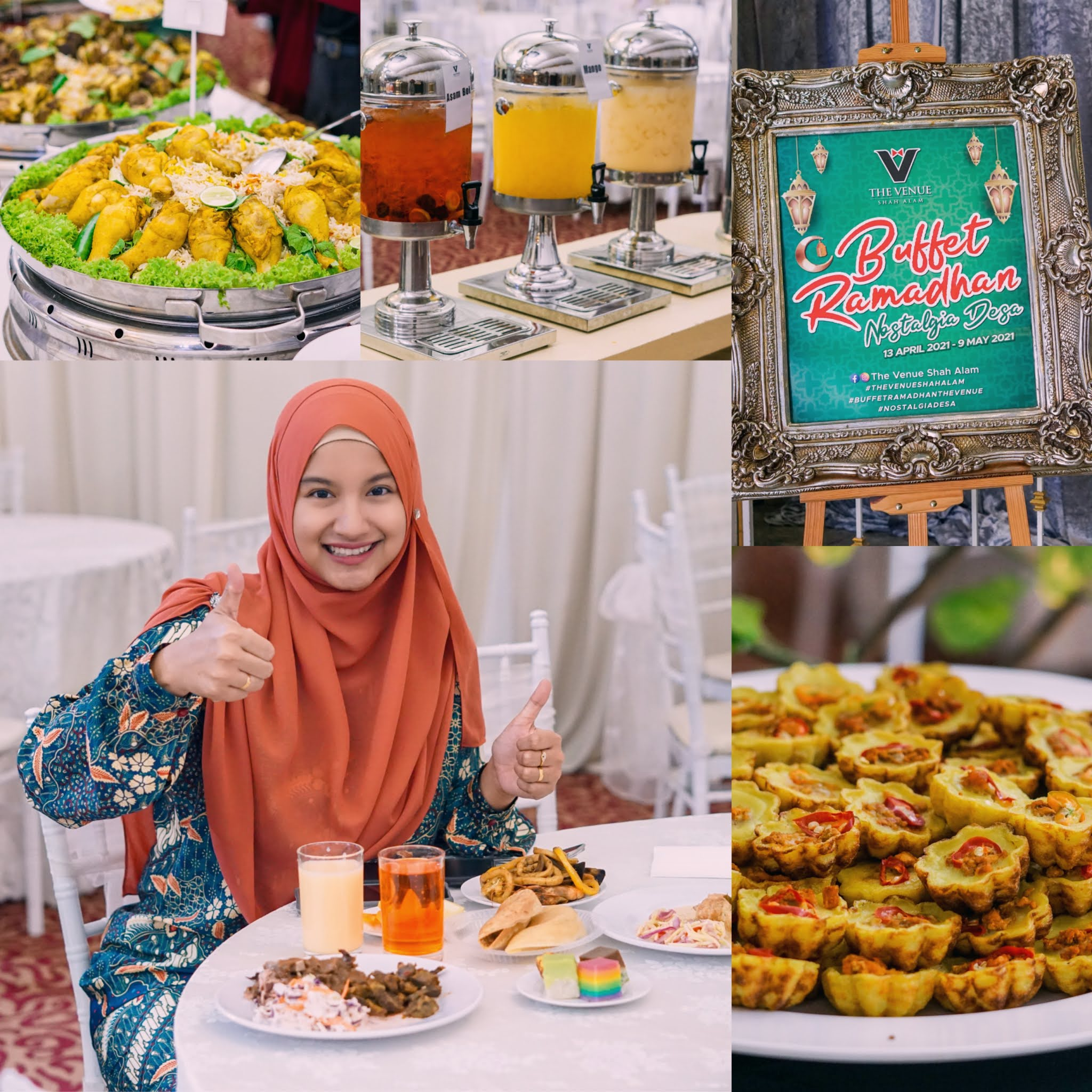 THE VENUE BUFFET RAMDHAN - Hak Milik Ina Ainaa