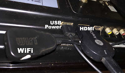 Instalasi HDMI dongle - Cara menyambungkan hp ke tv