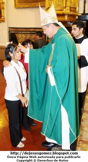 Foto de la confirmación en plena unción por Jesus Gómez