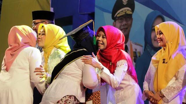 DPRD Jabar Berharap Lulusan Sekoper Cinta Dapat Berkontribusi Memajukan Kaum Perempuan.
