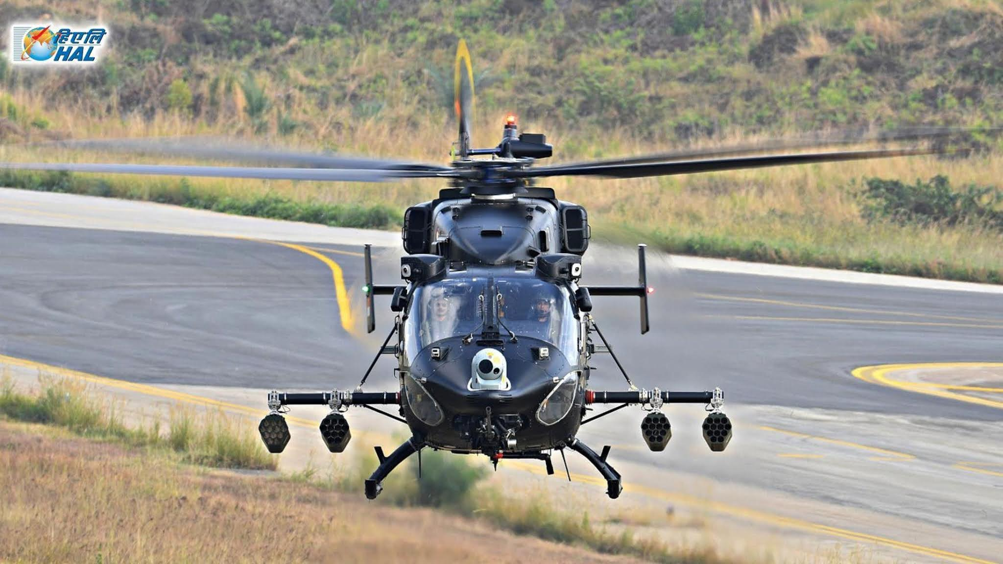 Advanced Light Helicopter - ALH - Weapon System Integration - WSI - HAL Rudra - 01