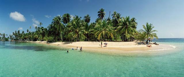 Panamskie wyspy San Blas