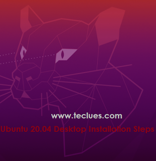 install Ubuntu 20.04 LTS Desktop