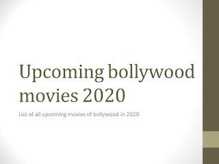 upcoming movies 2020 bollywood