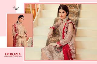 Shree Fab Emorzia Embroidered bridal pakistani Suits