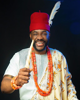 Ebuka Stuns in Isiagu Attire For Tonight BBNaija  Eviction