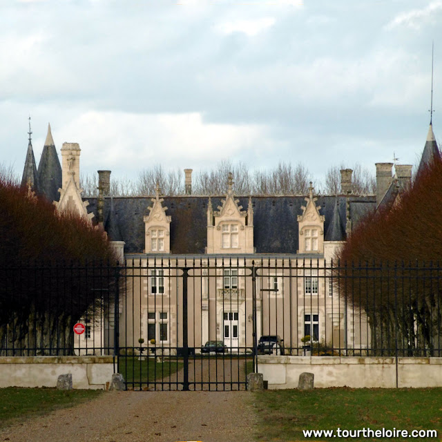 Chateau de Beauvais, Indre et Loire, France. Photo by Loire Valley Time Travel.