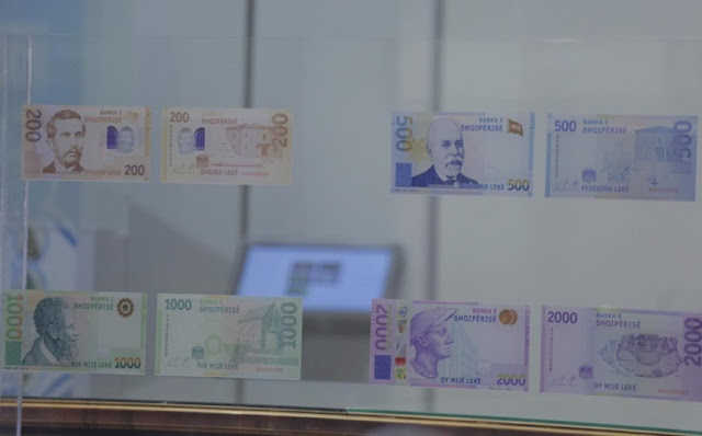 New banknote series presented in Albania