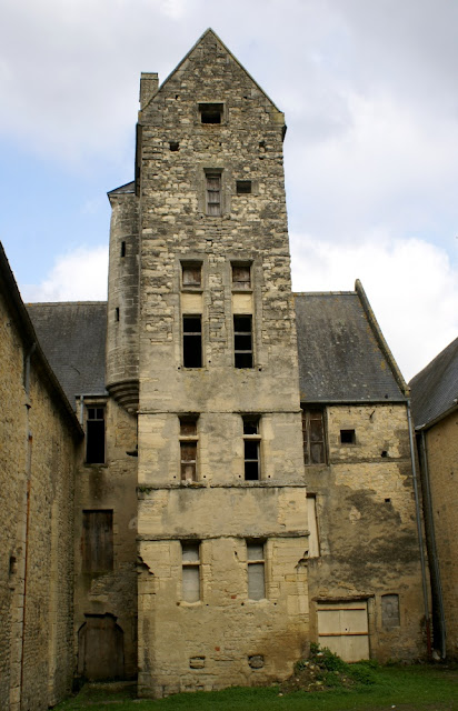 Tower  in Bayeux, Normandy