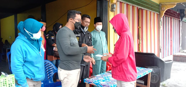 DPC Gamawa memberikan Santunan Makan dan Minuman Gratis Kepada Anak Yatim Piatu