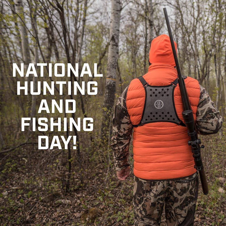 National Hunting and Fishing Day Wishes Unique Image