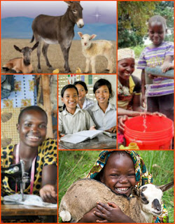 world vision gifts collage