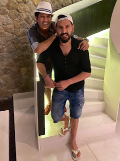 Sachin & Yuvraj Singh