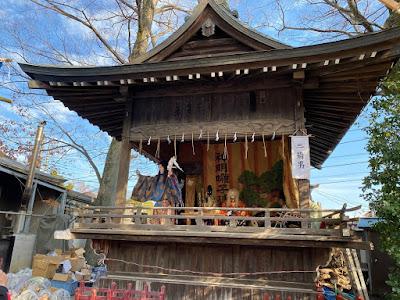 久伊豆神社縁起市奉納里神楽(令和元年12月15日)