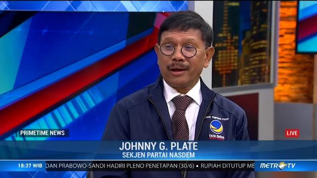 Nasdem: Apakah Prabowo Mau Mencabut Pernyataannya?