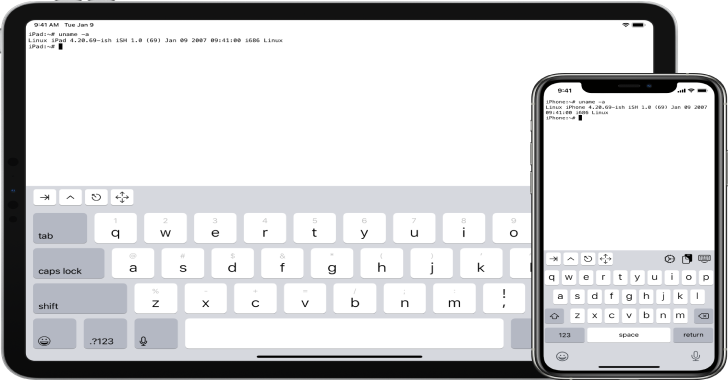ISH : Linux Shell For iOS