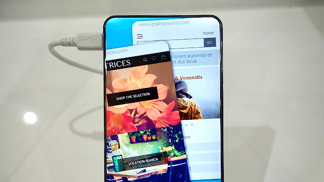 Next Essential Smartphone will be Completely Bezel-Less