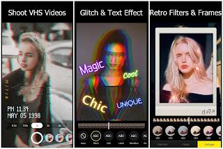 90s - Glitch VHS & Vaporwave Video Effects Editor Mod APK