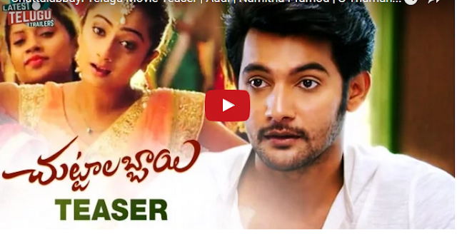Chuttalabbayi Telugu Movie Teaser
