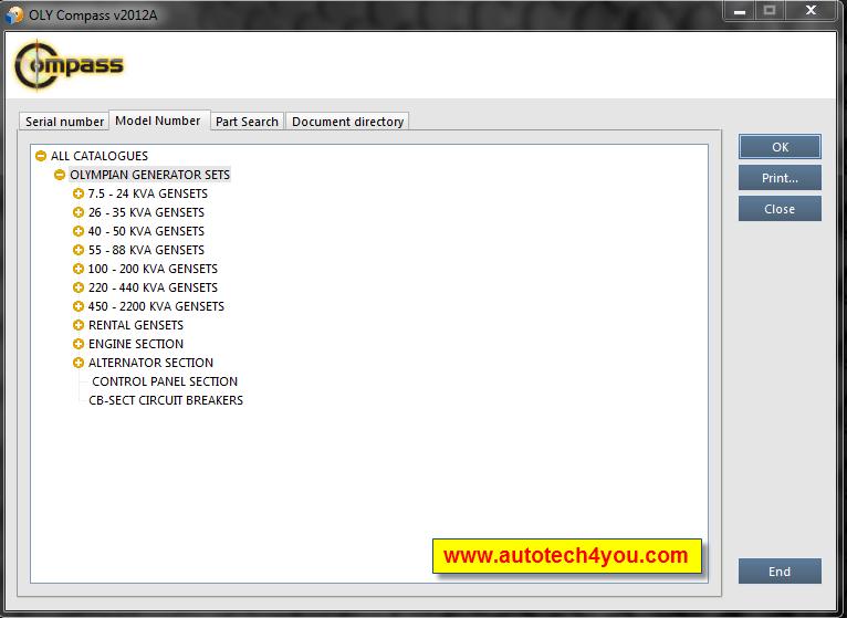Olympian Parts Catalog 2012 A