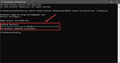 cara mengaktifkan microsoft net framework 3.5 offline